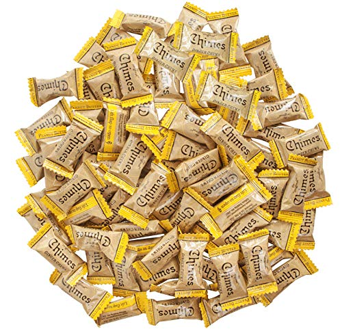 Chimes Peanut Butter Ginger Chews Candy, 1-Pound Bag from