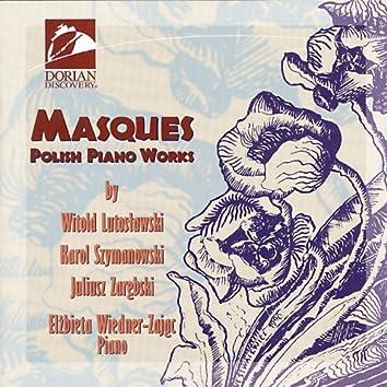 Piano Recital: Wiedner-Zajac, Elzbieta - Lutoslawski, W. / Szymanowski, K. / Zarebski, J. (Masques - Polish Piano Works)