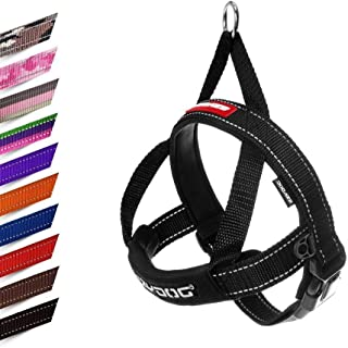 EzyDog Quick Fit Dog Harness - Easy to Fit Walking Harnesses for Small, Medium and Large Dogs - Neoprene Sleeve, Accessory...