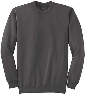 Joe's USA Tall Men's Pullover Fleece Sweatshirt Charcoal.-2XLT.2X-Large Tall