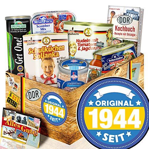 Original seit 1944 - Ostprodukte Set - Geburtstags Geschenke Oma