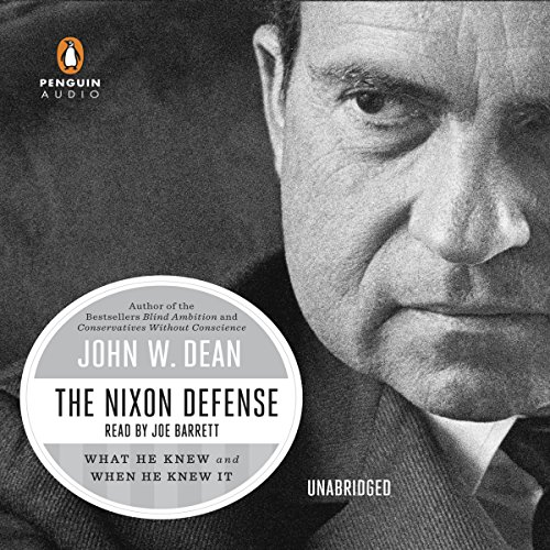 The Nixon Defense audiobook cover art