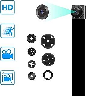 Amyway Cámaras Espía Oculta 1080P DIY Portátil Encubierta Niñera Seguridad del Video con Detección de Movimiento para el hogarCochesAviones no tripuladosla Oficina