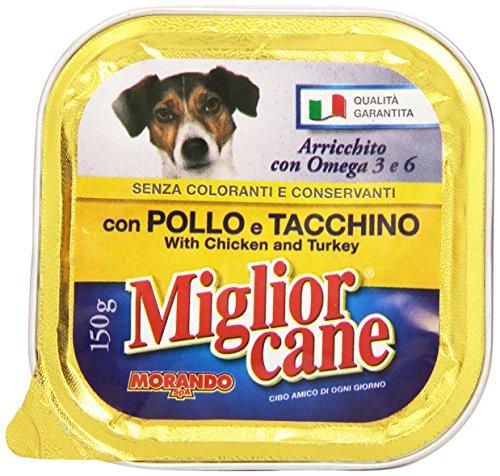 Miglior Cane Vaschetta Pollo e Tacchino - 150 g