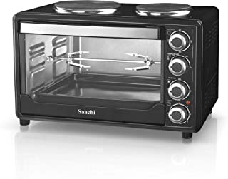 Saachi 30 Liter Electric Oven with 2 Hotplates - NL-OH-1928HPG