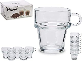 Vaso de chupito cristal, con asa, 2 cl Alsino Party JGA KG-61001
