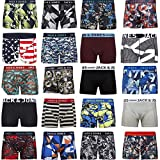 Pack de 4 calzoncillos tipo boxer Jack & Jones, tallas S, M, L, XL, XXL multicolor Small
