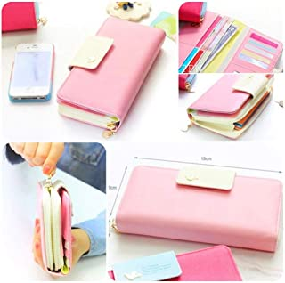 Smartphone Wallet for Ladies - Baby Pink