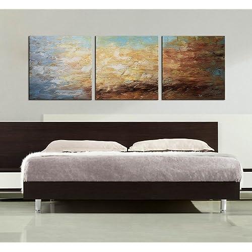 Abstract Wall Art for Bedroom: Amazon.com