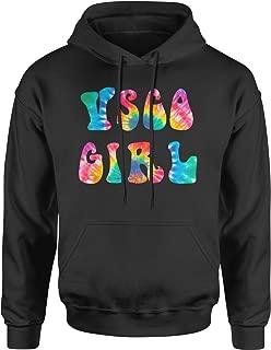 Expression Tees Tie-Dye Vsco GirlUnisex Adult Hoodie