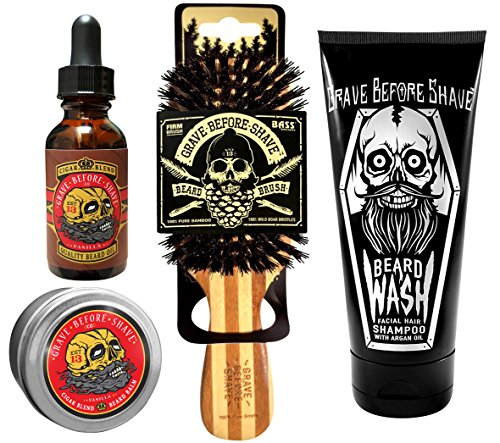 Grave Before Shave Beard Care Pack (Cigar Vanilla Blend)