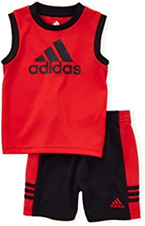 adidas Two-Piece Tank Top & Short Active Set (Toddler)