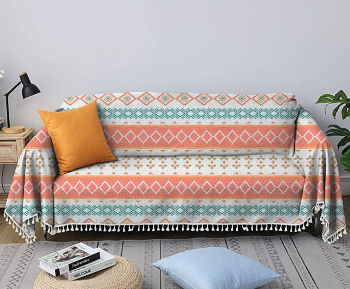 Sofa Towel Max 70% OFF Pastel Color Ethnic Abstract Pat Art Max 85% OFF Seamless Fashion
