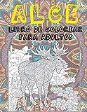 Alce - Libro de colorear para adultos