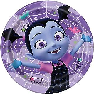 "Disney Vampirina Round Dinner Plates, 9"", 8 Ct."