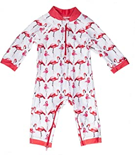 Turtley Cute Easy Inseam Diaper Zipper Honeysuckle Swim Company Baby Boy Swimsuit Certified UPF 50+
