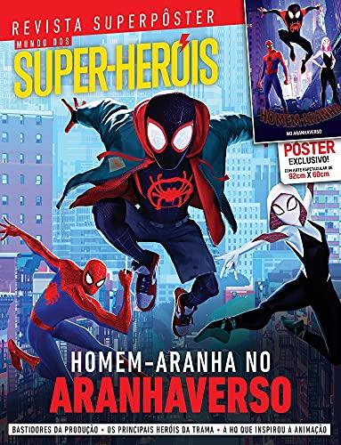 Superpôster Mundo dos Super-Heróis - Homem Aranha no Aranhaverso
