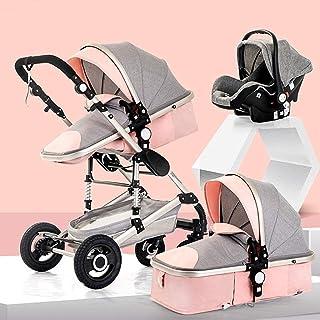3-i-1-barnvagn Barnvagn , Anti-chock Lätt barnvagn , Kompakt Buggy Barnvagnar , Barnvagn Barnvagn , Stor sittplats , Extra...