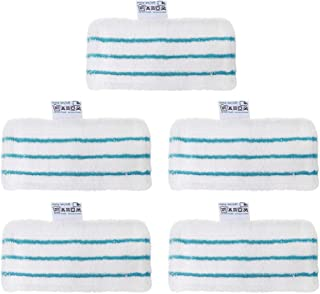 LAMASA 5 Pack Washable Replacement Cleaner Steam Mop Pads for Black and Decker FSM1610 FSM1630