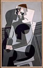 Berkin Arts Juan Gris Giclee Canvas Print Paintings Poster Reproduction (Portrait de Madame Josette Gris)