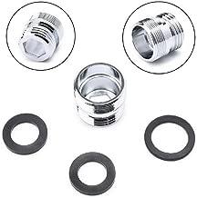 Balance World Inc Metal Adaptor Outside Thread Water Saving Kitchen Faucet Tap Aerator Connector (28mm)