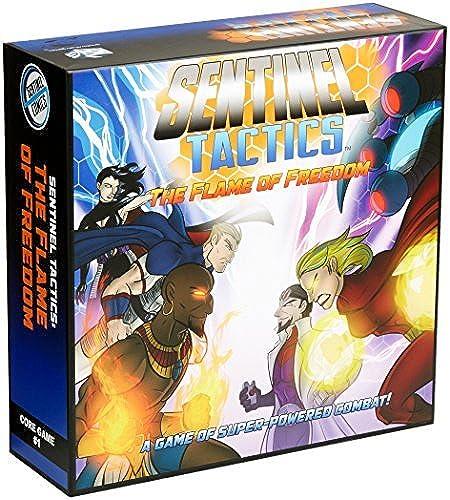 están haciendo actividades de descuento Sentinel Tactics The Flame of Freedom Board Game Game Game by Greater Than Games  promociones de equipo