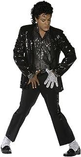 Smiffy`s Mens Michael Jackson Billie Jean Halloween Costume