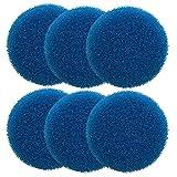 Finest-Filters - Juego de 6 almohadillas de filtro de espuma gruesa compatibles con Eheim Classic 2215