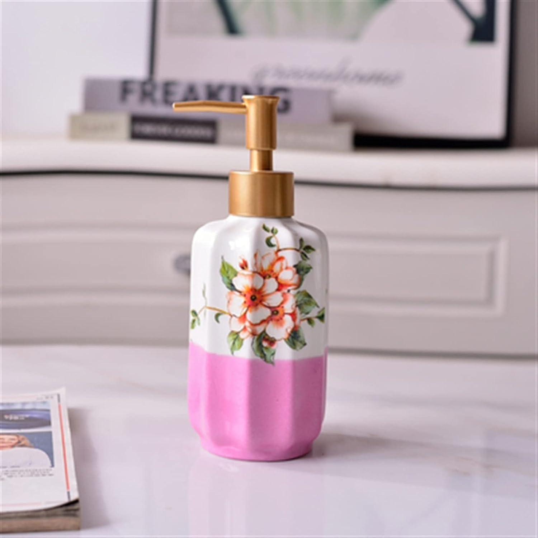 Hssure Retro Ceramic San Francisco Mall Soap Lotion depot Bottle DispenserBathroom with