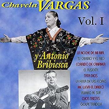 Chavela Vargas y Antonio Bribiesca, Vol. I