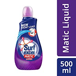 Surf Excel Matic Liquid Detergent Front Load 500 ml