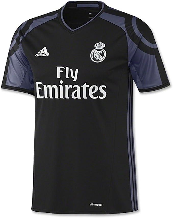 Adidas Real Madrid 16/17 Third Negro Jersey