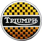 Parche Parches Triumph Motorcycles Biker Racing Team parches Embroidered Iron on Patch style13