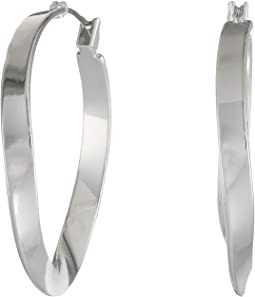 Robert Lee Morris - Twist Hoop Earrings