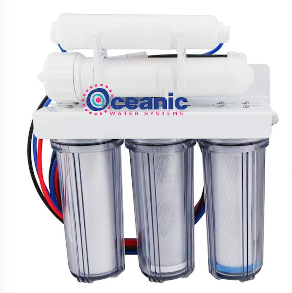 Oceanic 5 Stage Core Reverse 5 popular Osmosis Water with Cl System Filter Gifts
