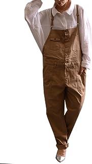 (Goldjapan)ゴールドジャパン 大きいサイズ レディース サロペット パンツ サロペ ロングパンツ