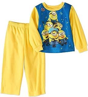 Boy's Toddler I Love Gru Minions Flannel Pajama Set (5T)