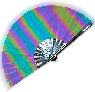 Flash Fan Fantasy | Reflective Holographic Fan