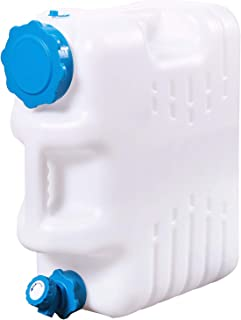 REDCAMP 4/4.9 Gallon Portable Water Container with Spigot for Camping