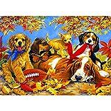 Puzzle per adulti 1000 pezzi Jigsaw Puzzle-Pet Dog, educativo intellettuale decomprimente ...