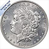 (1878-1904) Morgan Silver Dollars BU (Random Year) Condition: Brilliant Uncirculated Composition: .900 Pure Silver (AG) Weight: 26.730 grams Diameter: 38.1 mm Reeded Edge