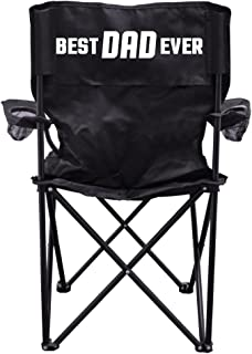 VictoryStore Outdoor Camping Chair - Best Dad Ever Camping Chair with Carry B