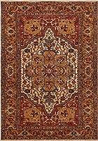 Distressed Cream 5 x 7 Area Rug Carpet Large New 6446 商品カテゴリー: ラグ カーペット [並行輸入品]
