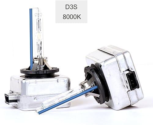 2x D2s Reemplazo 4300k las bombillas de xenón instalada en fábrica para adaptarse a Nissan Modelos