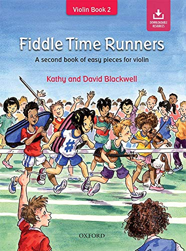 Fiddle Time Runners: A second book of easy pieces for violin