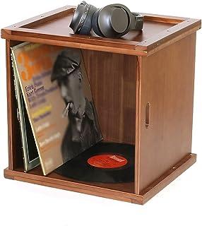 Nai-storage Soporte de exhibición de Discos LP, Caja de Almacenamiento de Discos LP de Vinilo, cafetería, Hotel, Oficina, ...