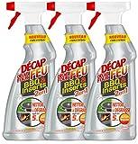 Décap'Feu Spray 2 en1 Nettoyant BBQ & Inserts 750 ml - Lot de 3