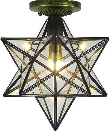 Amazon.es: lámparas rusticas de techo - Últimos 90 días ...