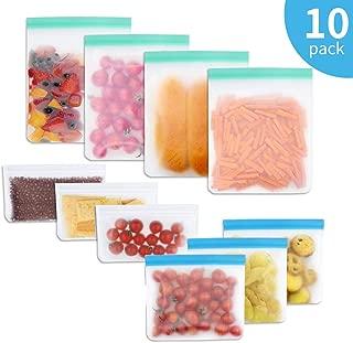 GAMURRY Bolsas de Almacenamiento de Alimentos Reutilizables,Bolsas Silicona Reutilizables,Bolsas de Sándwich Congelador,para Almacenaje/Almuerzo/Verduras/Frutas/Viajes,Aprobado por la FDA y Sin BPA