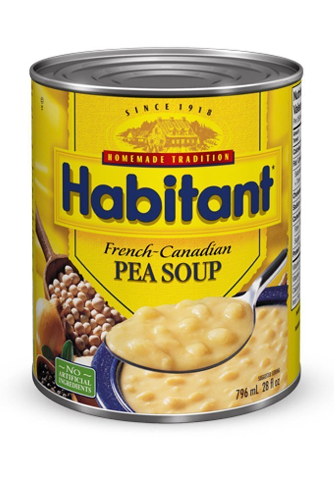 Habitant Yellow Pea Soup 791ml fro Large-scale sale Brand new {Imported 12pk 26.92-Ounce